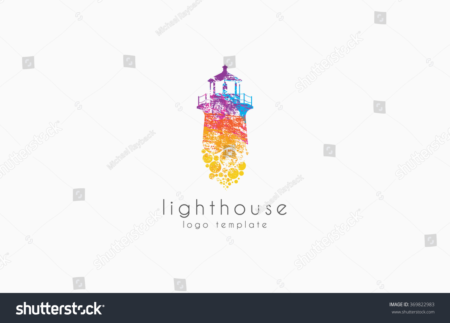Lighthouse Design Rainbow Lighthouse Lighthouse Logo