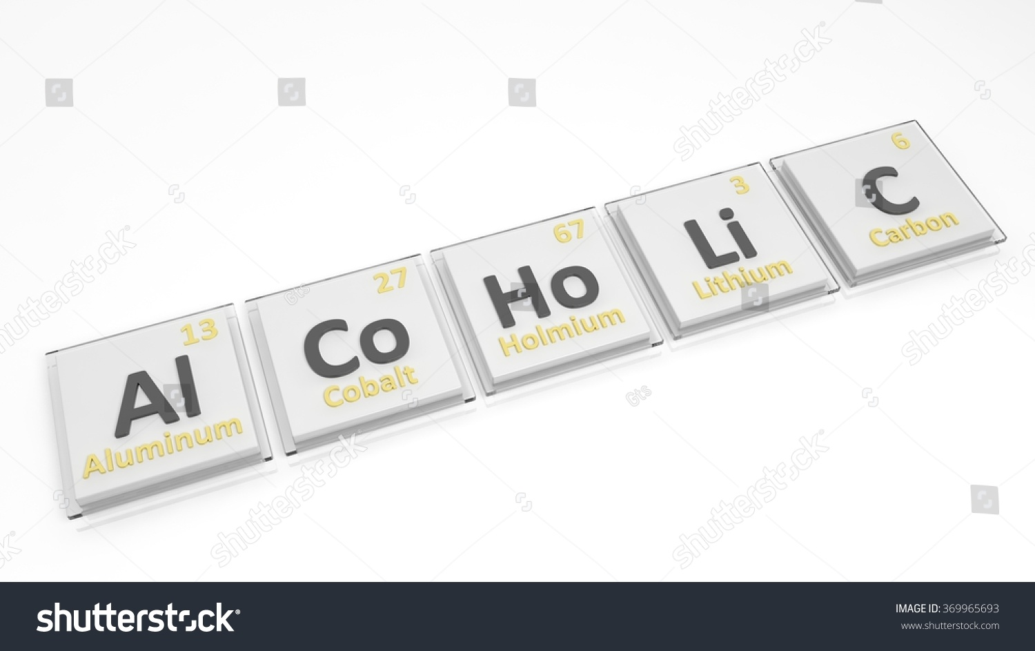 Periodic table elements symbols used form stock illustration periodic table of elements symbols used to form word alcoholic isolated on white urtaz Image collections