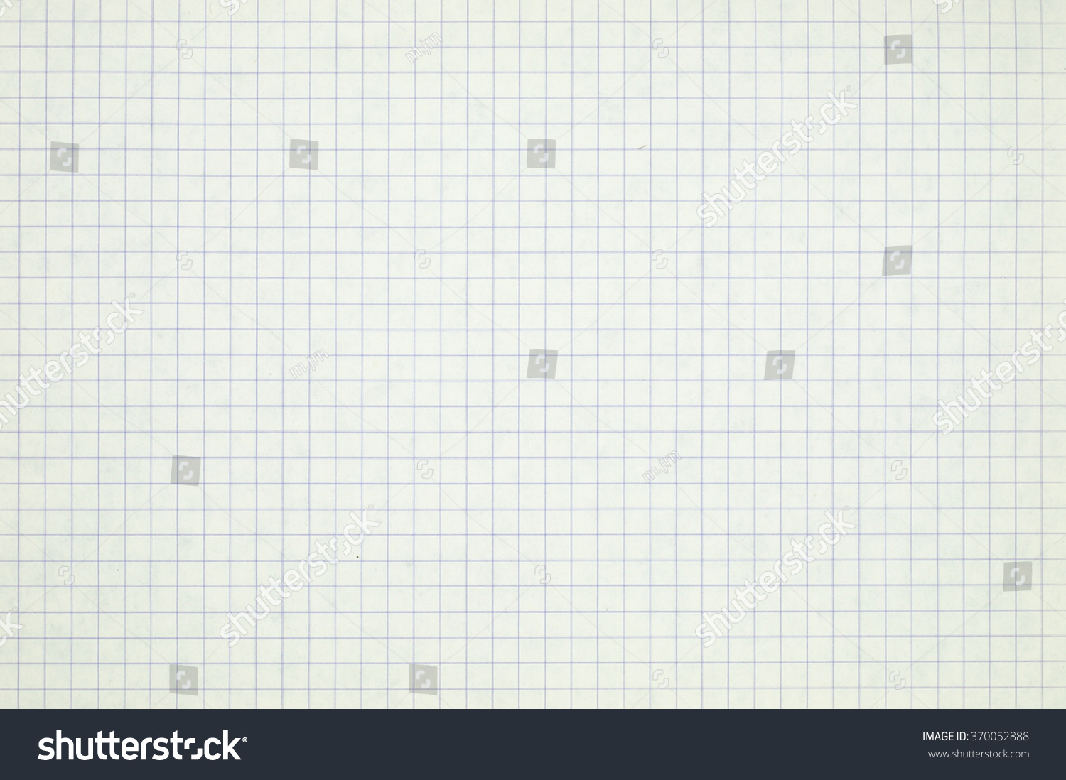 Grid Paper Background Stock Photo 370052888 Shutterstock
