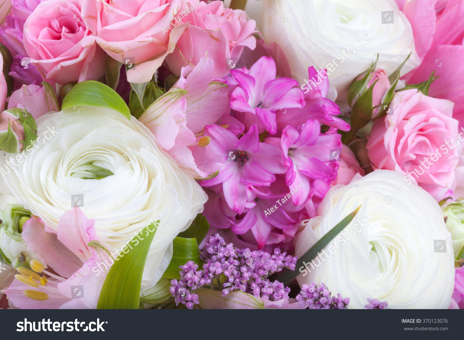 Amazing flower bouquet arrangement close up in pastel colors ez canvas id 370123076 izmirmasajfo