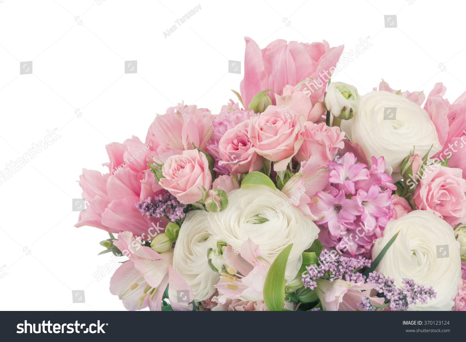 Amazing flower bouquet arrangement pastel colors stock photo edit amazing flower bouquet arrangement in pastel colors isolated on white izmirmasajfo