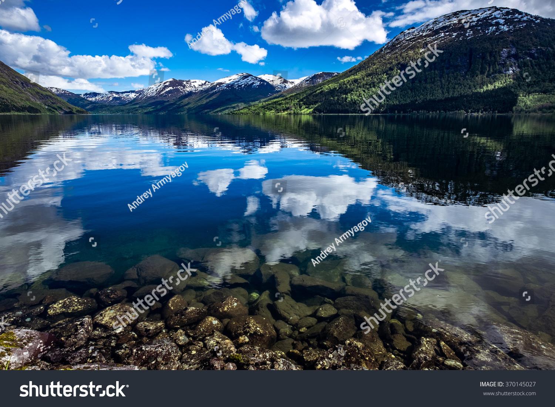 beautiful nature norway natural landscape. | ez canvas