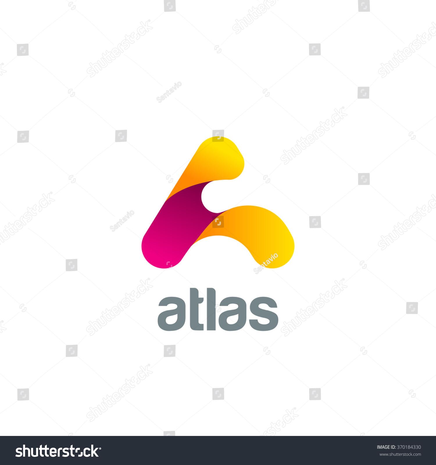 vetor stock de creative letter logo design vector template livre de