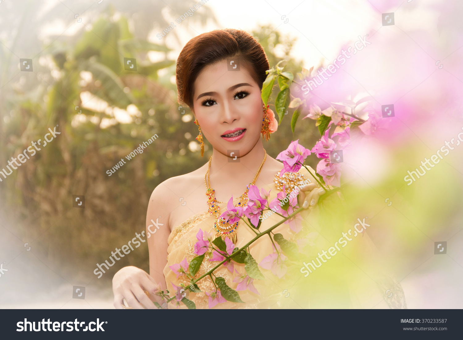 stock photo soft beautiful thai women wearing typical thai dress identity culture of thailand 370233587 A Lethal Mistake Revealed on Thai Girls And How to Avoid It
