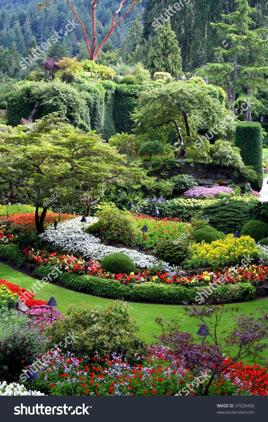 Vancouver Island Gardens Island Design