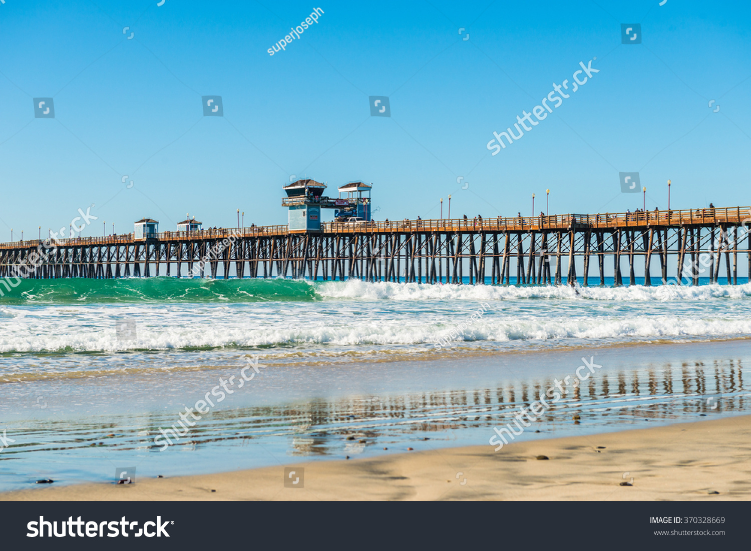 The fishing pier trestle bridge in imperial beach san for Fishing license san diego