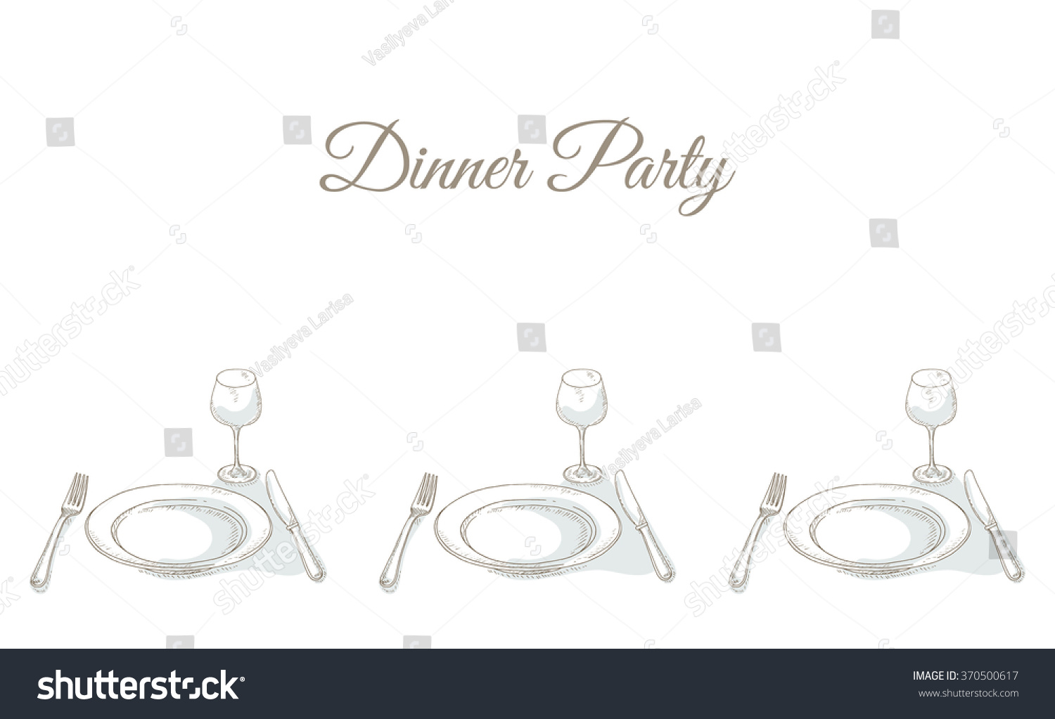 Invitation To A Dinner Party Gallery - Party Invitations Ideas