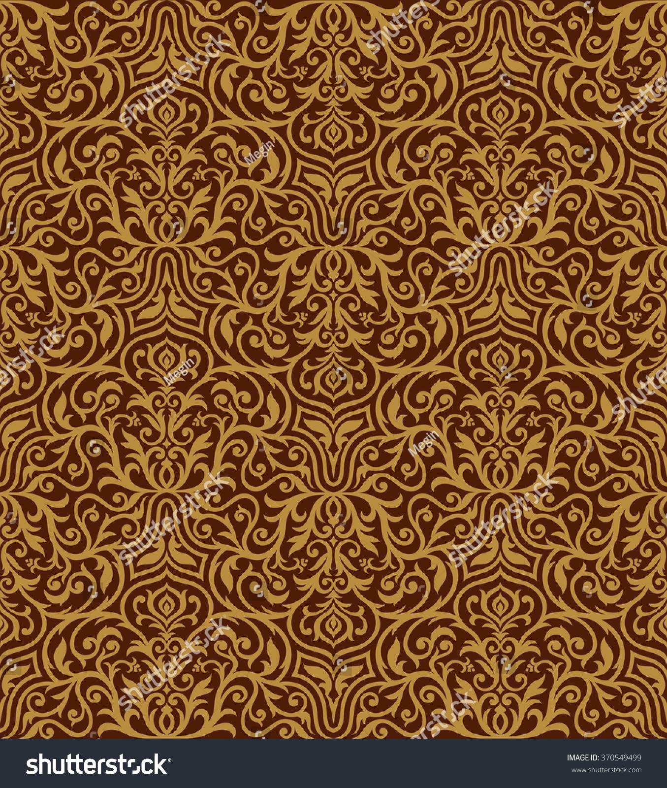 swirling royal pattern wallpaper - photo #7