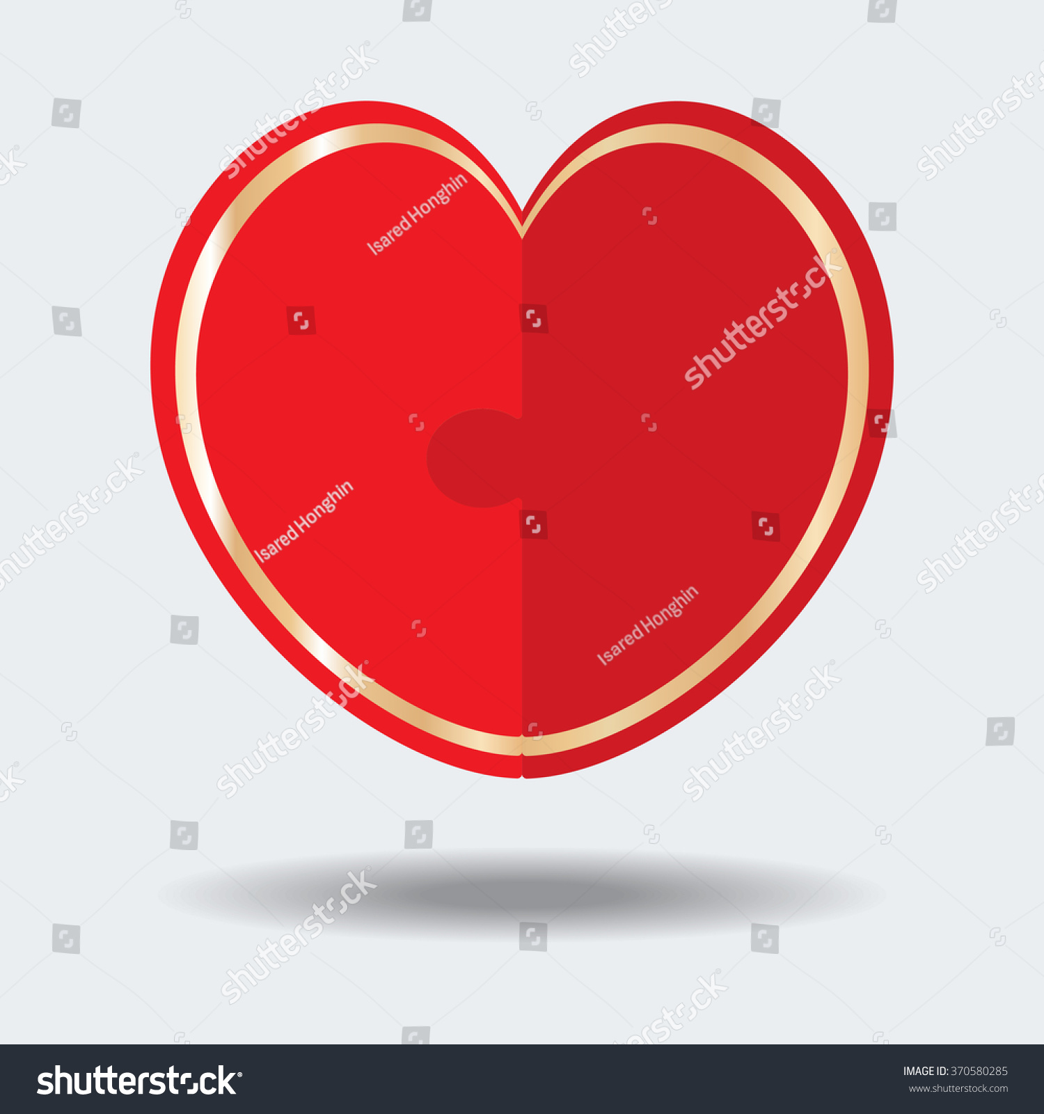 Heart Symbol Vector Illustrator Stock Vector Royalty Free