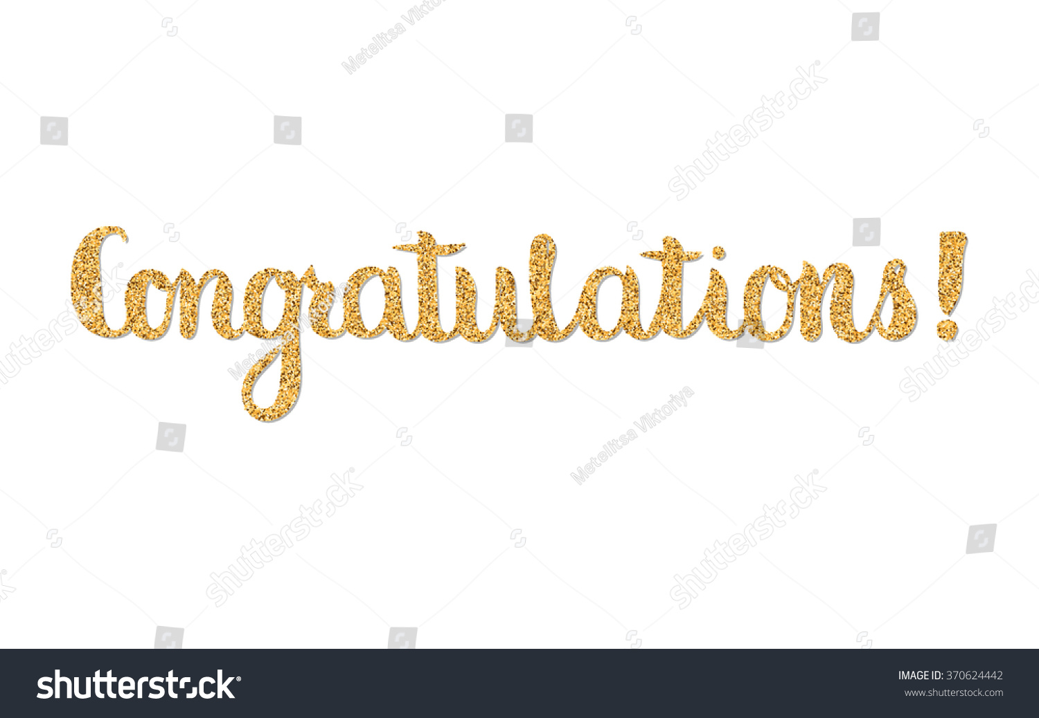 Congratulations Hand Letteringhand Drawn Quote
