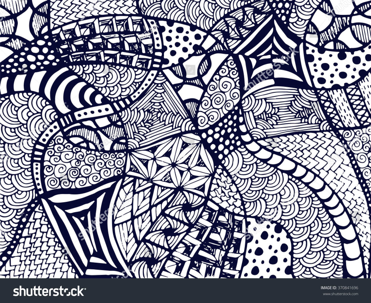 abstract zentangle background tangled ornament on white zentangle ornament vector abstract zentnagle