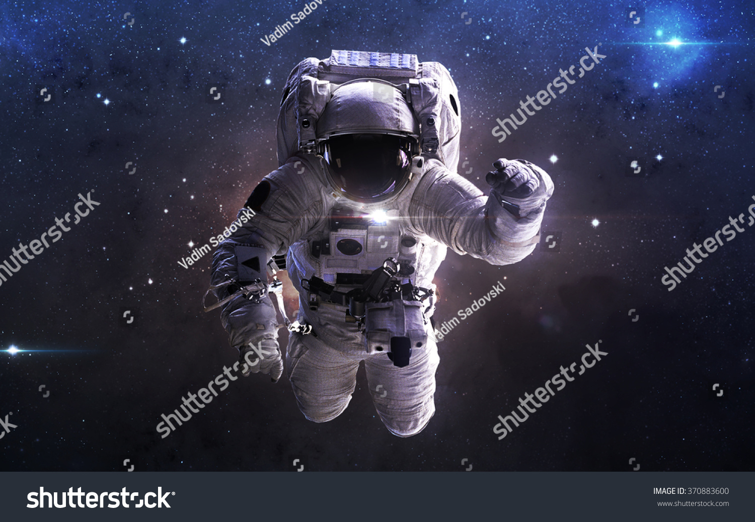 Astronaut in outer space this image elements furnished by for Outer space elements