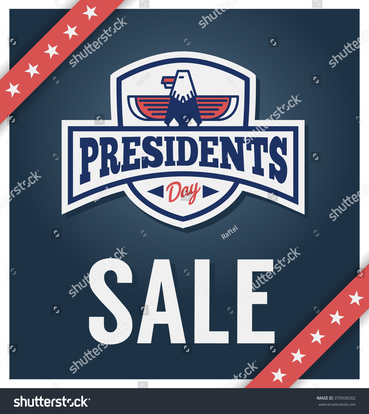 Presidents Day Sale Banner For Business Promotional
