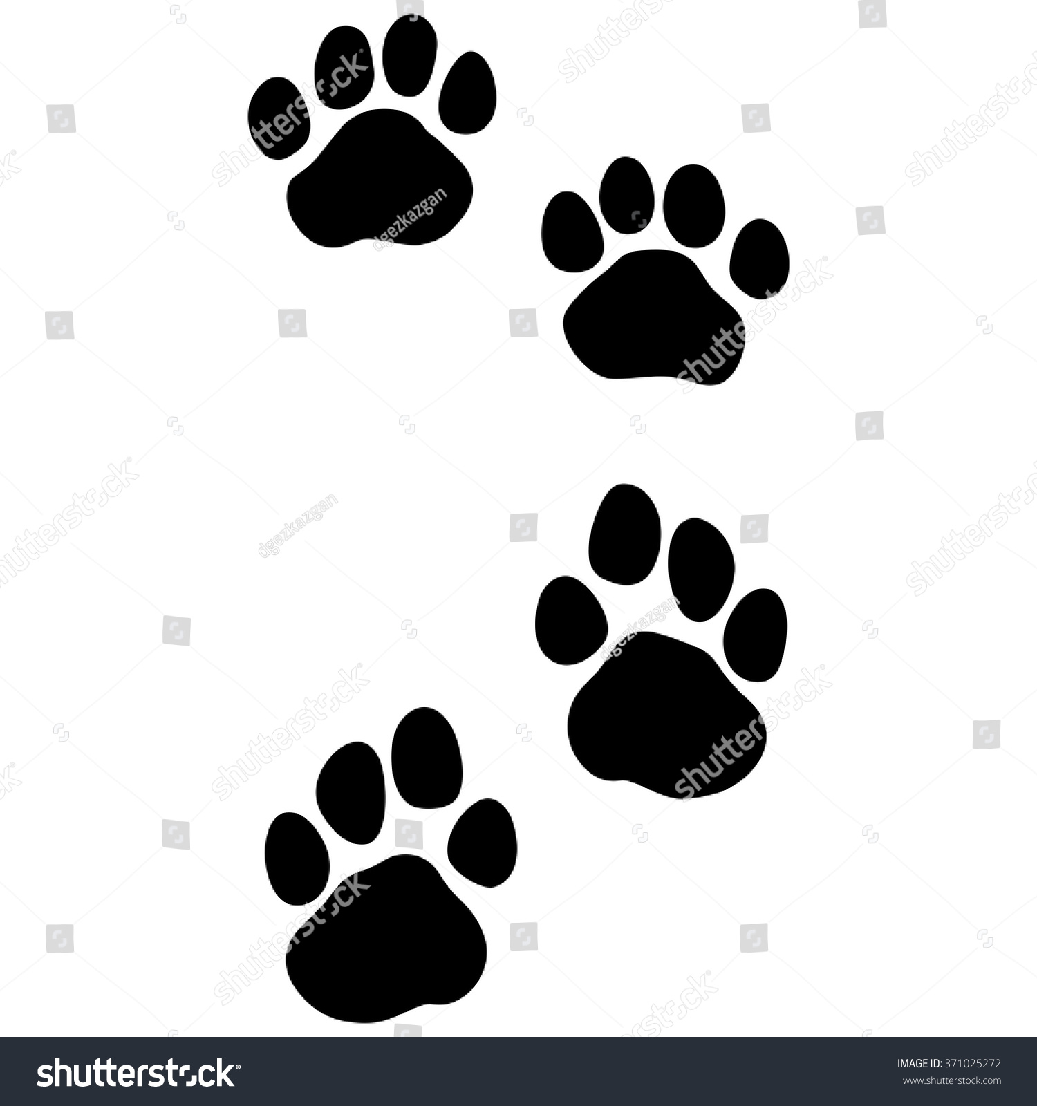 Tiger paw print background - photo#10