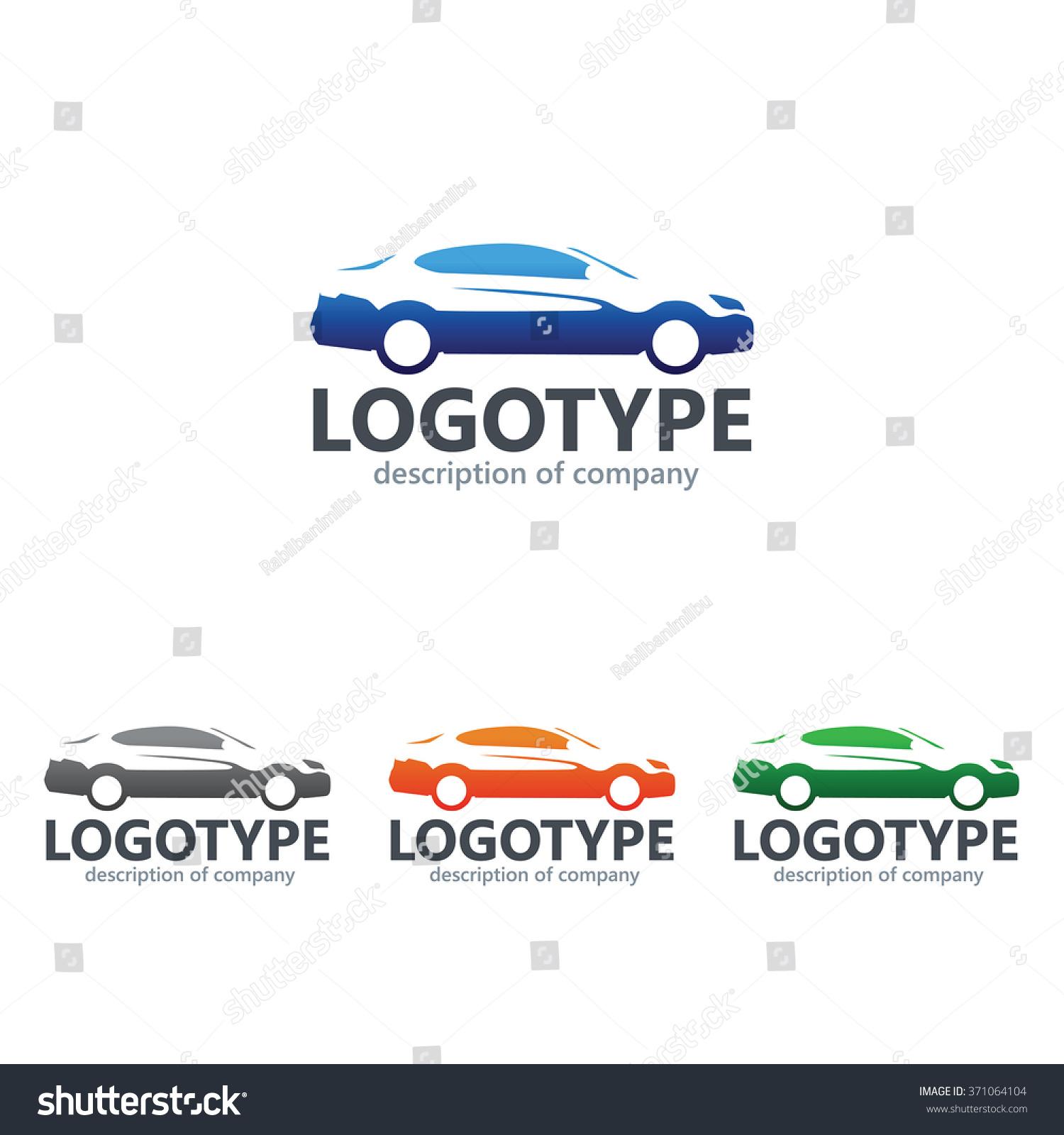 Car Repair Delivery Service Label Vector Stock Vector 371064104 ...