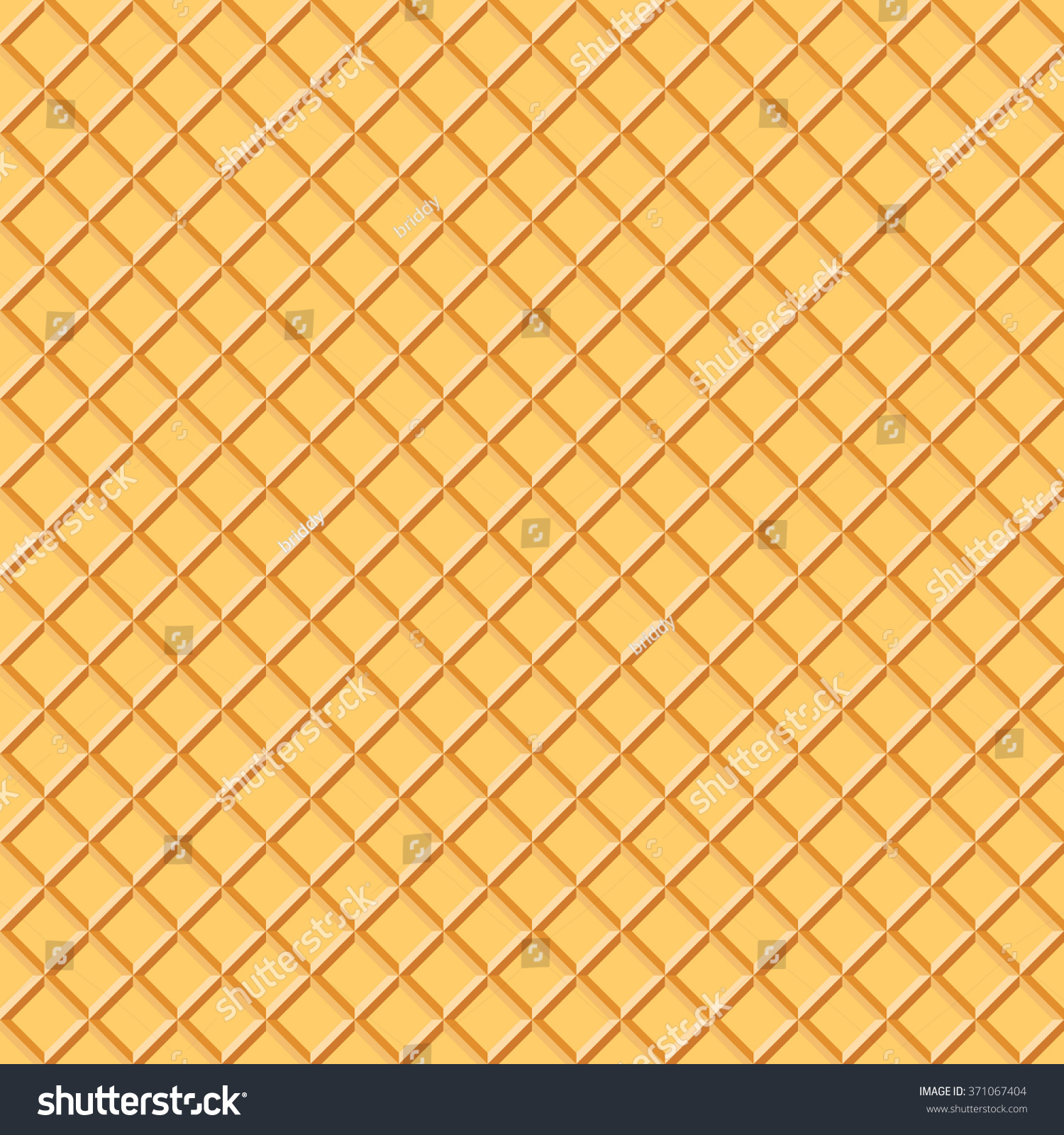 Light Waffle Texture. Vector Food Background. Ice Cream ...