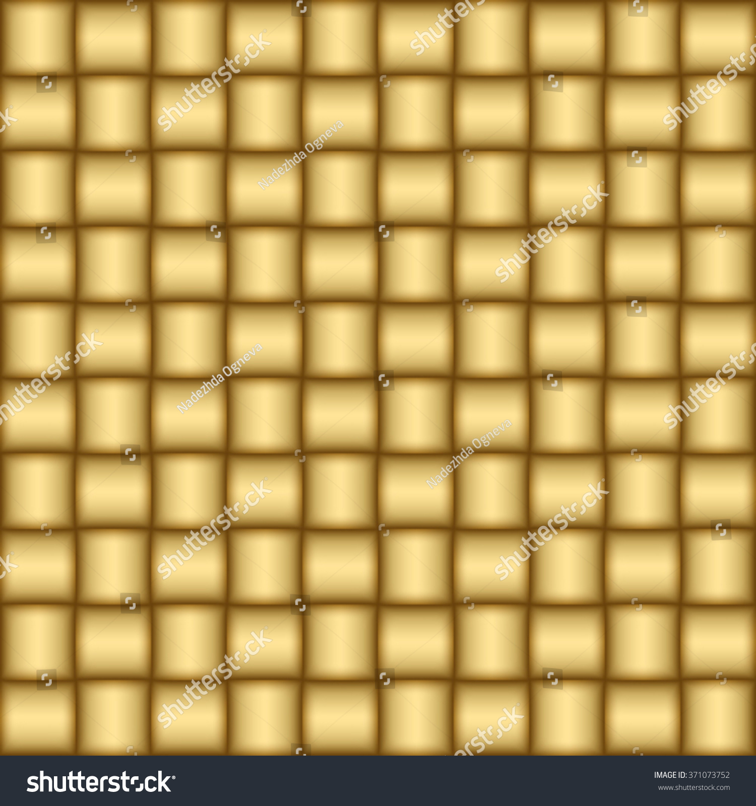 Gold Background Metal Tubes Glance Glow Stock Vector 371073752 ...