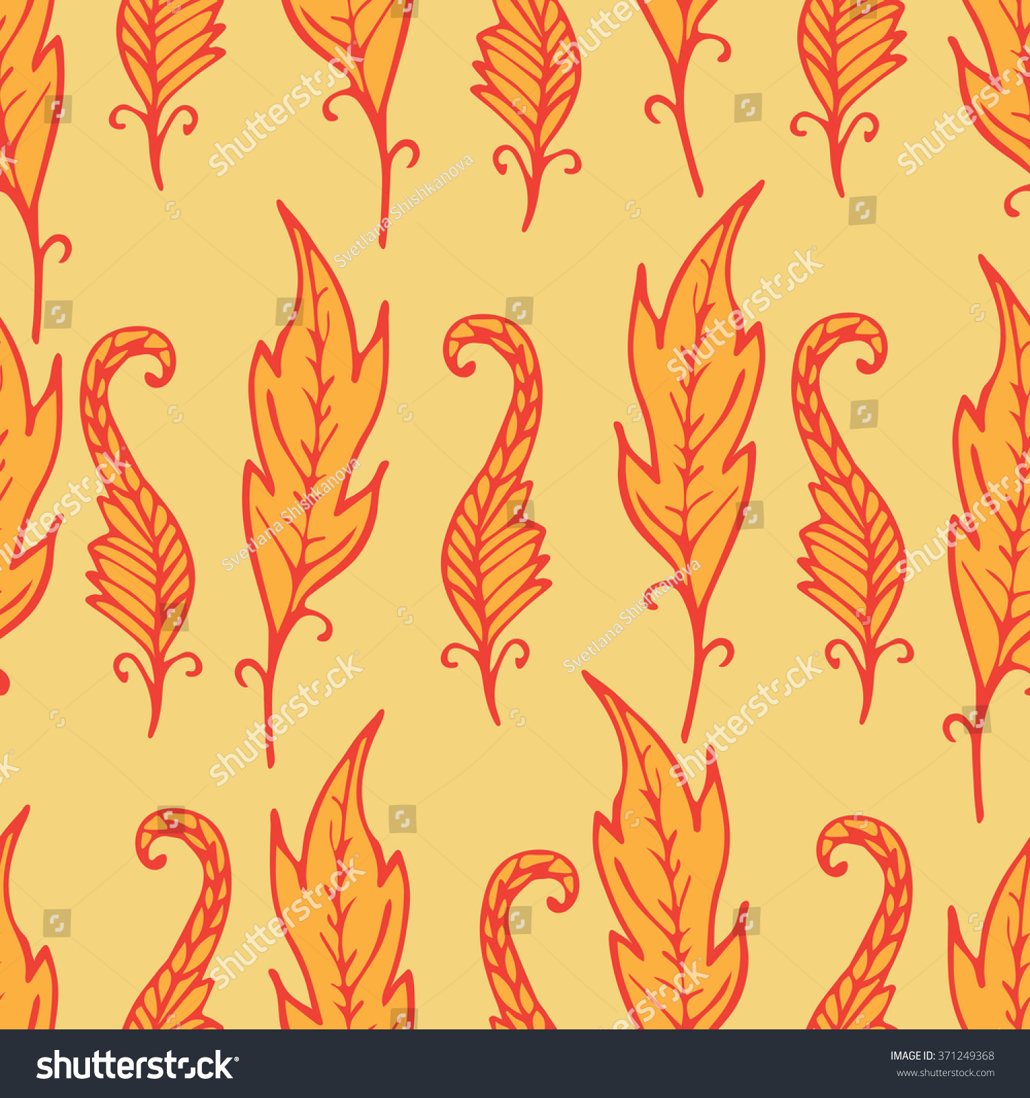 Simple Bright Seamless Floral Background Stock Vector | Short News ...