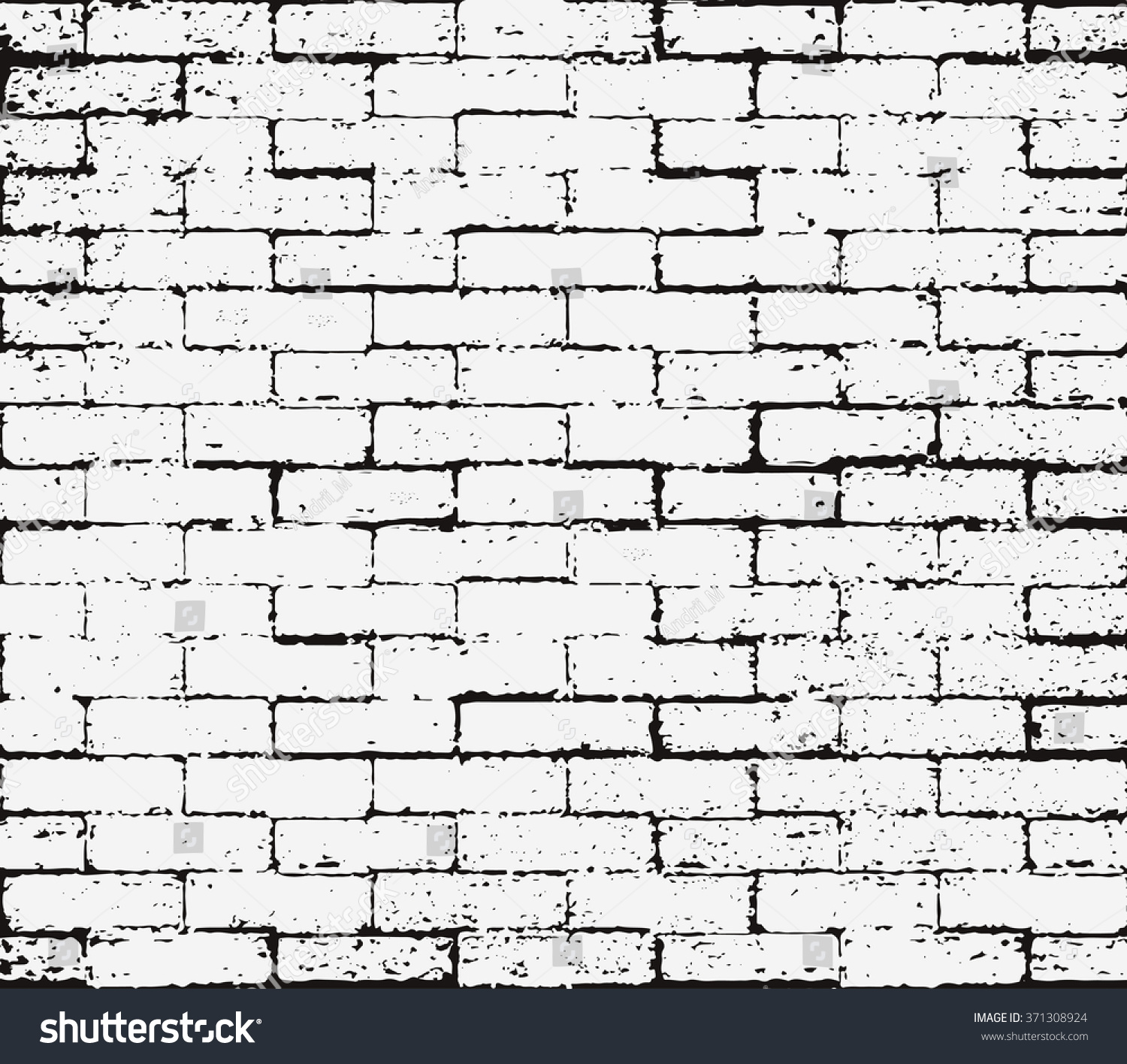 Brick wall overlay Grunge Seamless texture  Abstract Black and White  Distress Texture  Scratch Rust. Royalty free Brick wall overlay Grunge Seamless   371308924 Stock