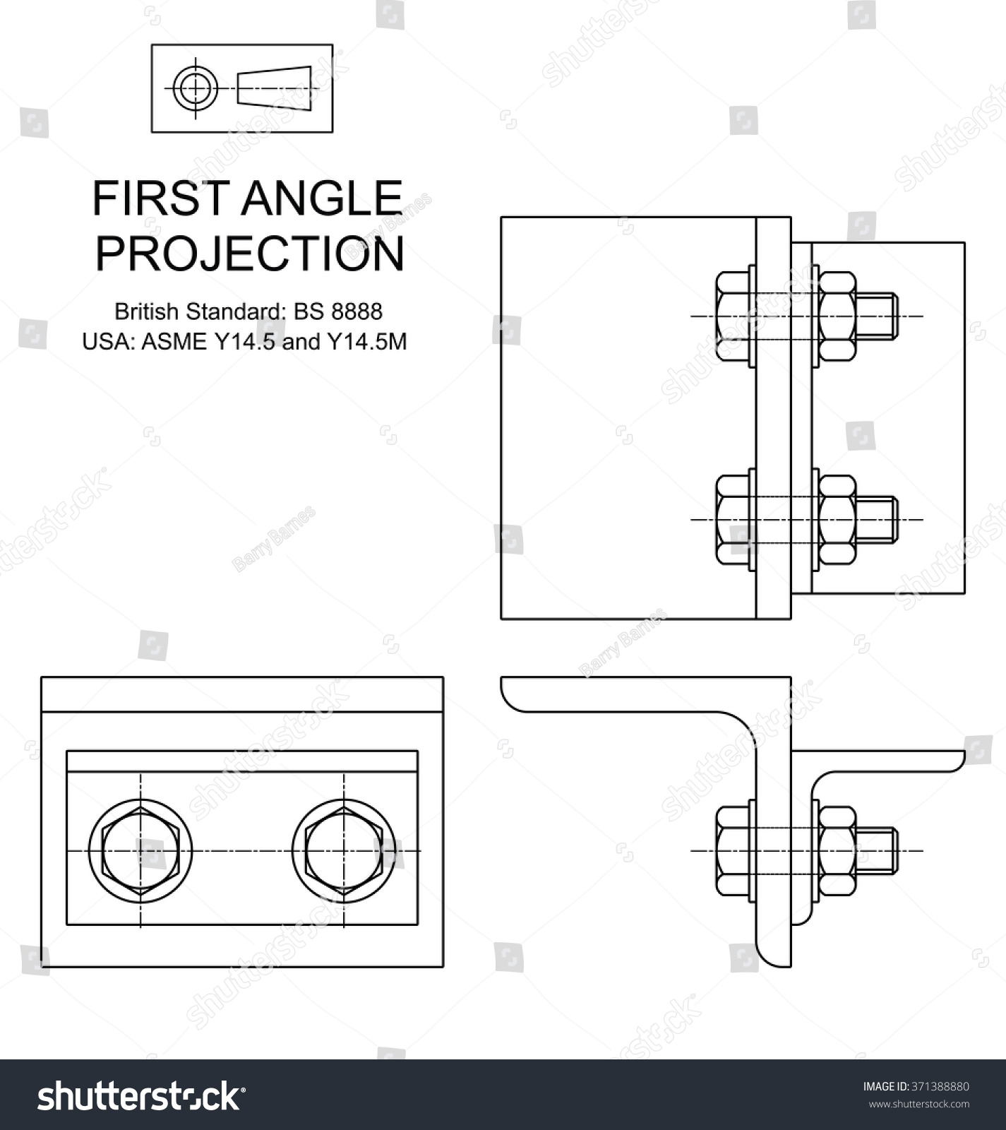 how to take a orthographic photo