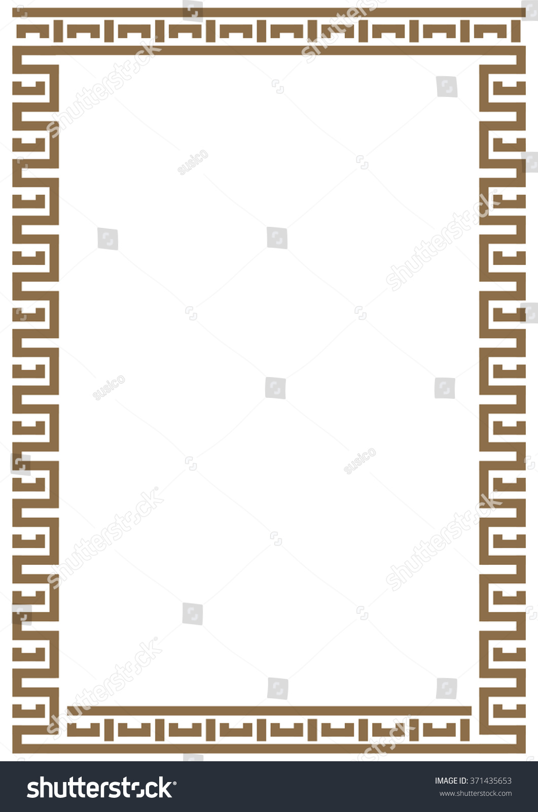 Vector certificate border template additional design stock vector vector certificate border template with additional design elements xflitez Images