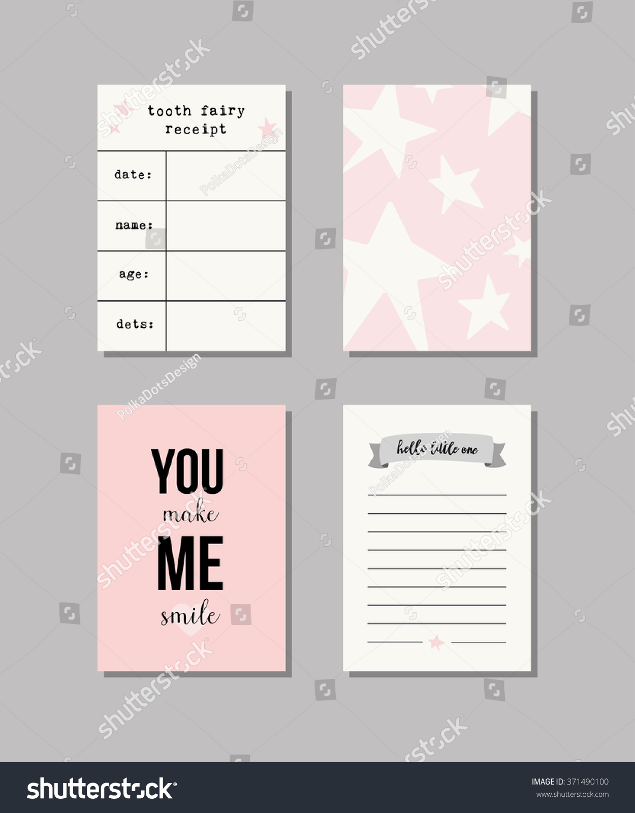 Set Of Baby Cards. Collection Of Vector Templates For Scrapbooking,  Congratulations, Baby Shower