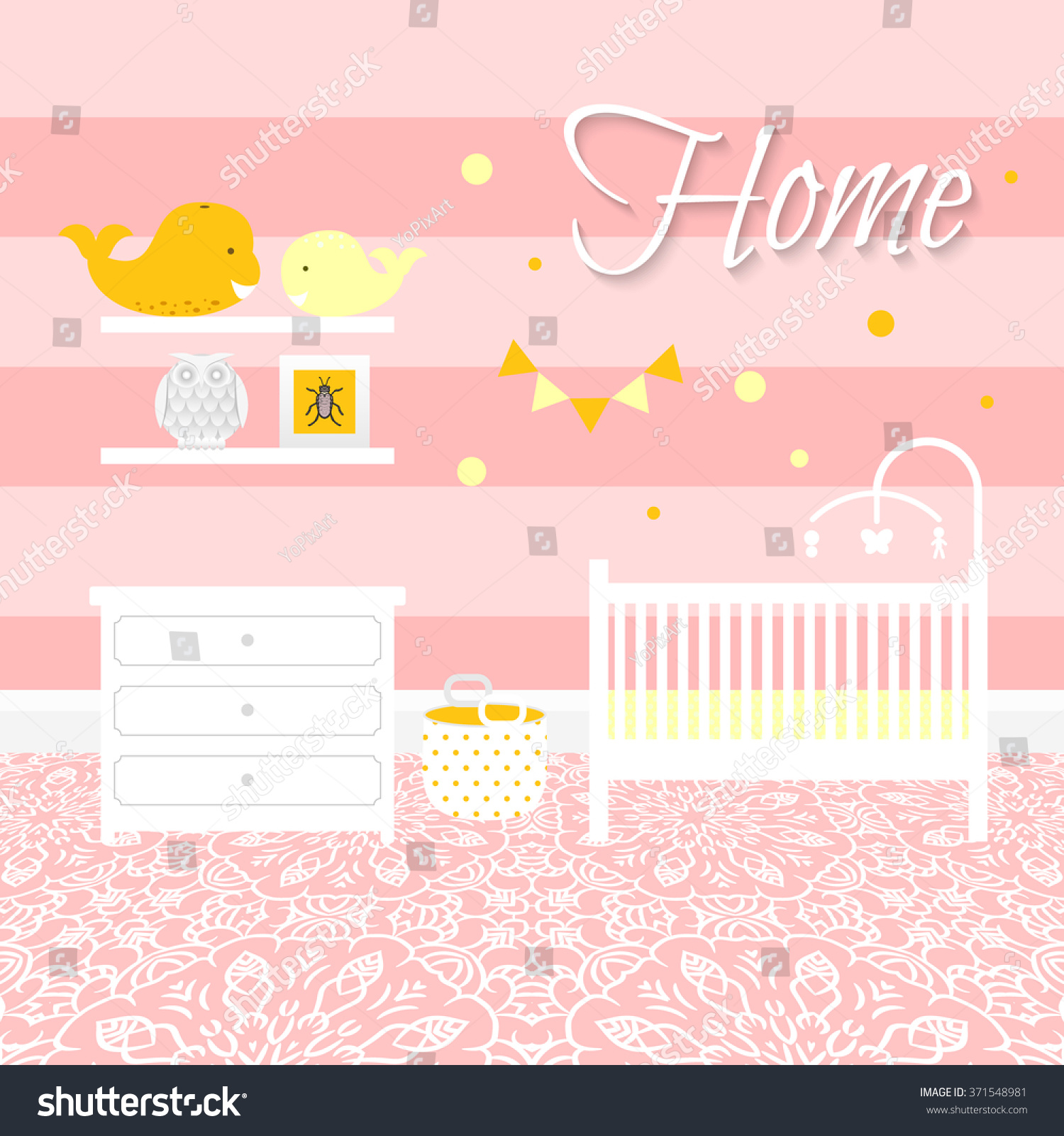nursery with white furniture. nursery room with white furniture baby pink stripe interior girl design bed t
