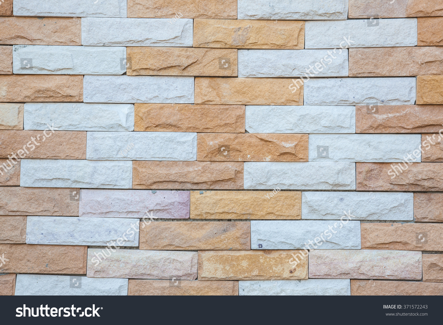 Sandstone tiles exterior wall background stock photo for Exterior background