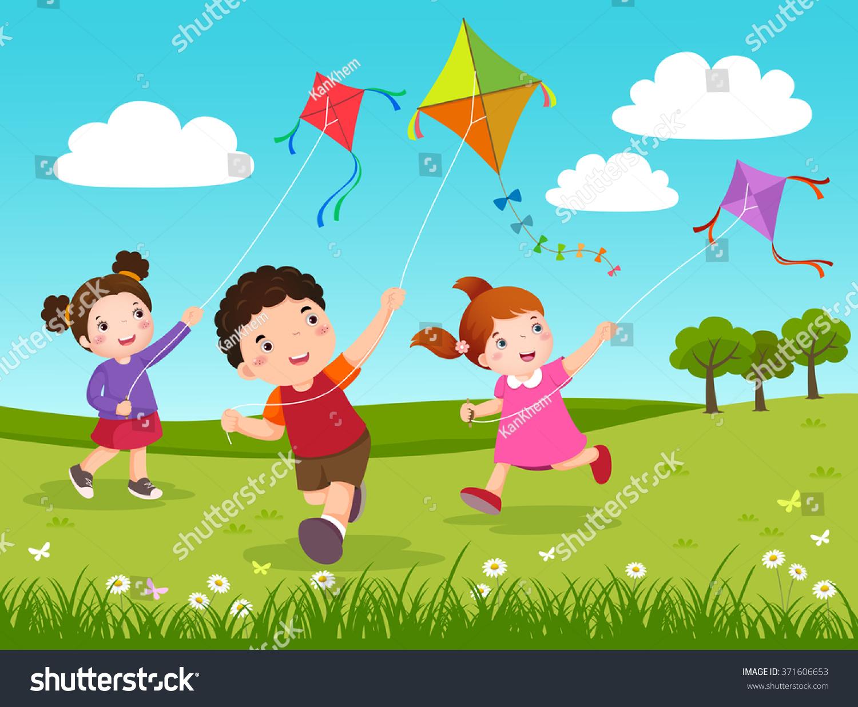 flying kite illustration - photo #47