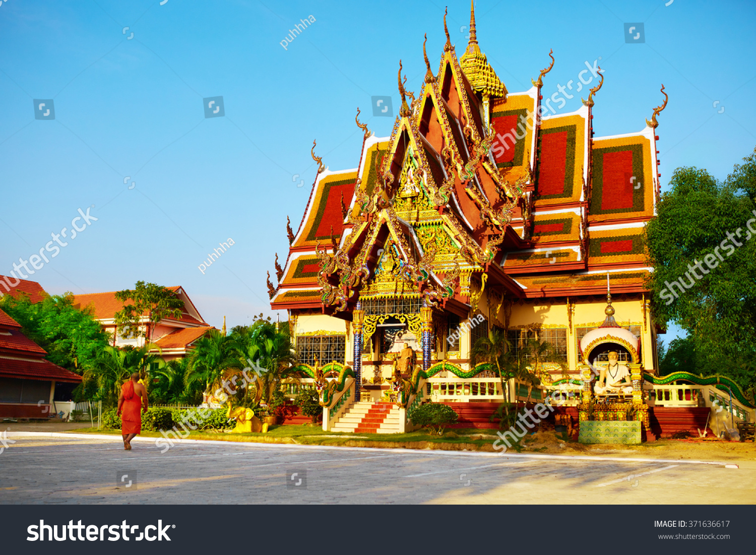 Royalty free thailand landmark scenic view of 371636617 for Architecture orientale