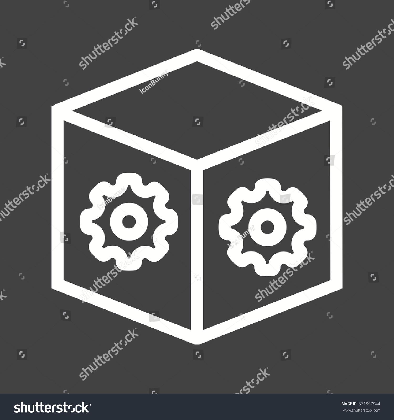Dropbox settings stock vector 371897944 shutterstock dropbox settings biocorpaavc Gallery