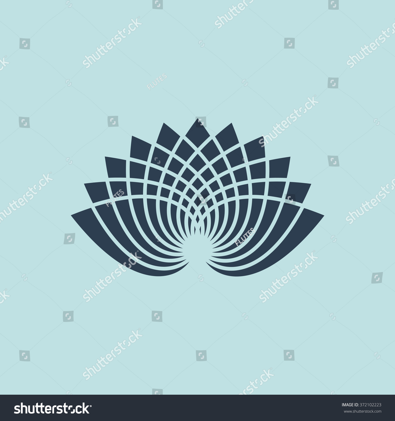 Icon lotus flower eps 10 stock vector royalty free 372102223 icon of lotus flower eps 10 izmirmasajfo