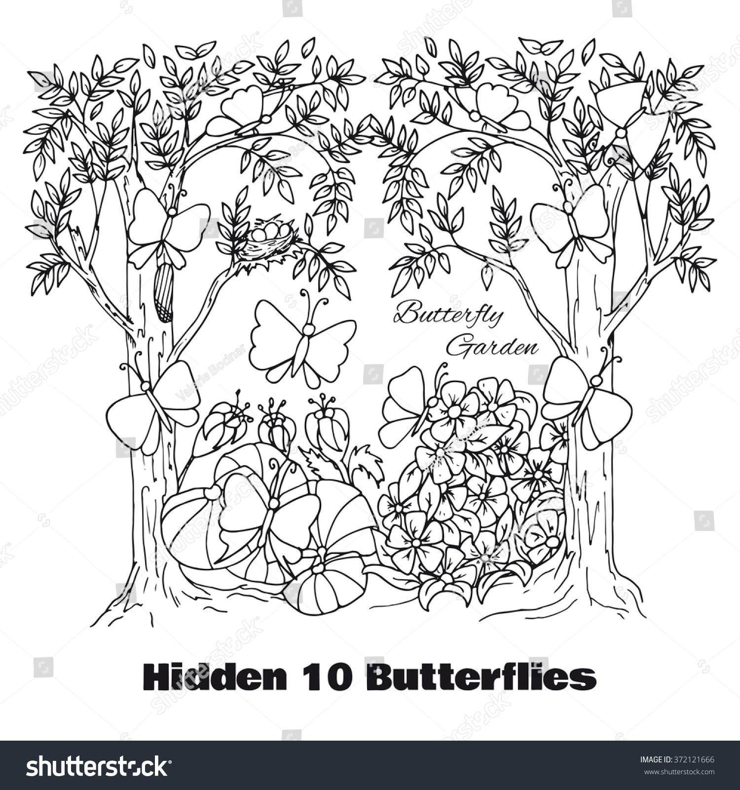 hidden objects location find objects vector stock vector 372121666