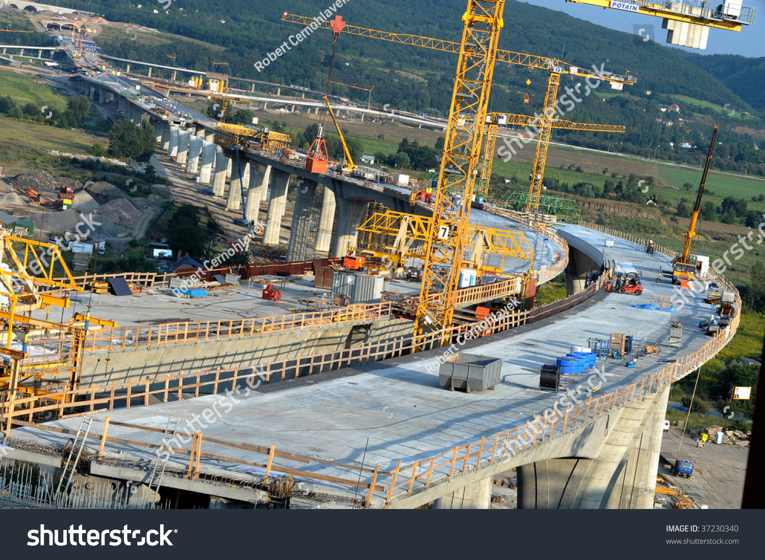 bridge construction site stock photo 37230340 shutterstock