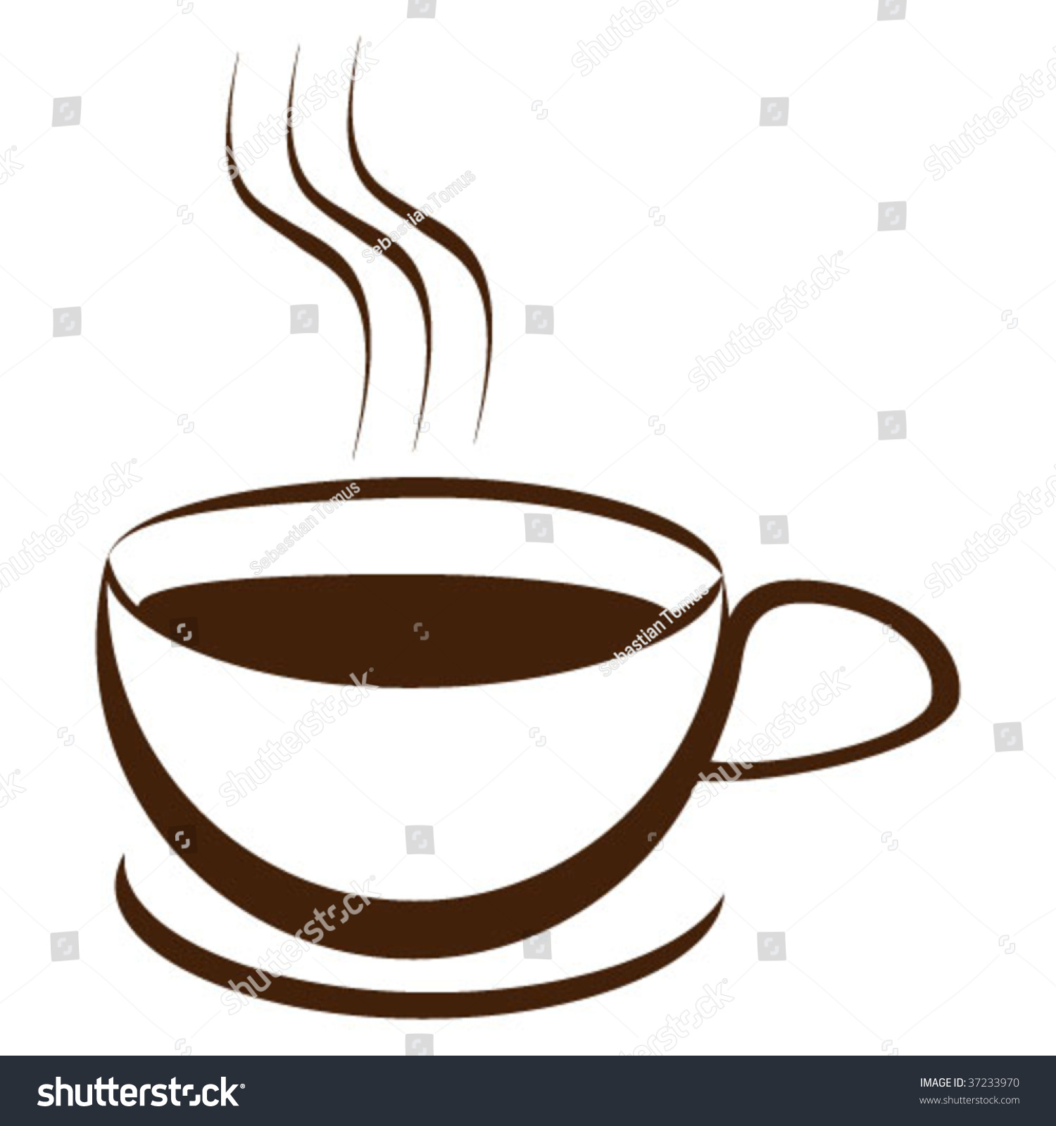 Coffee cup vector free - Coffee Cup Vector Illustration