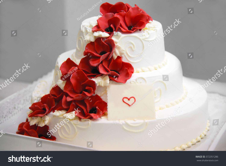 Birthday Cake Sign Writing Text White Stock Photo Edit Now