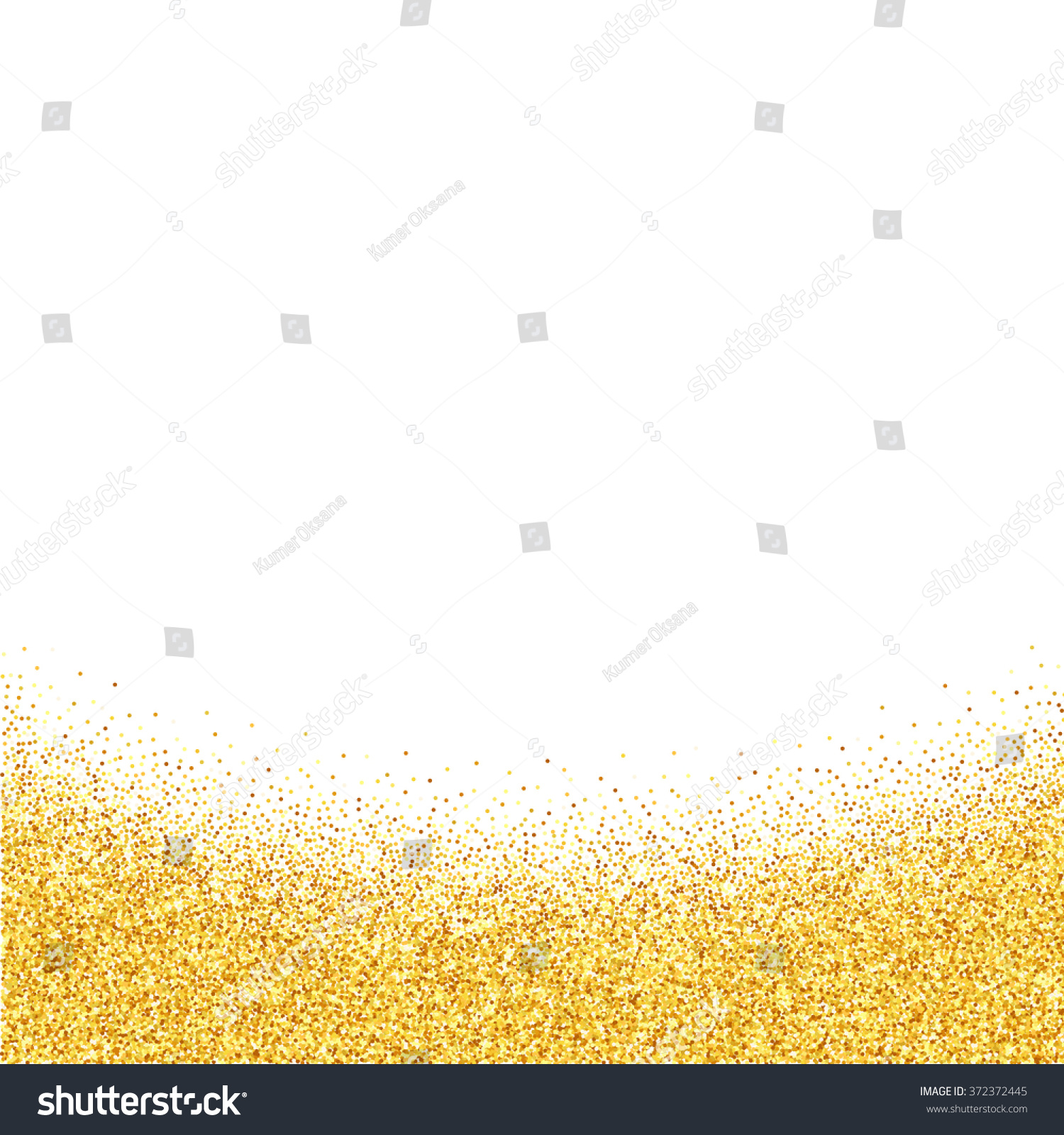 Gold glitter bright vector transparent background golden sparkles - Vector Gold Glitter Abstract Background Golden Sparkles On White Background Design Template