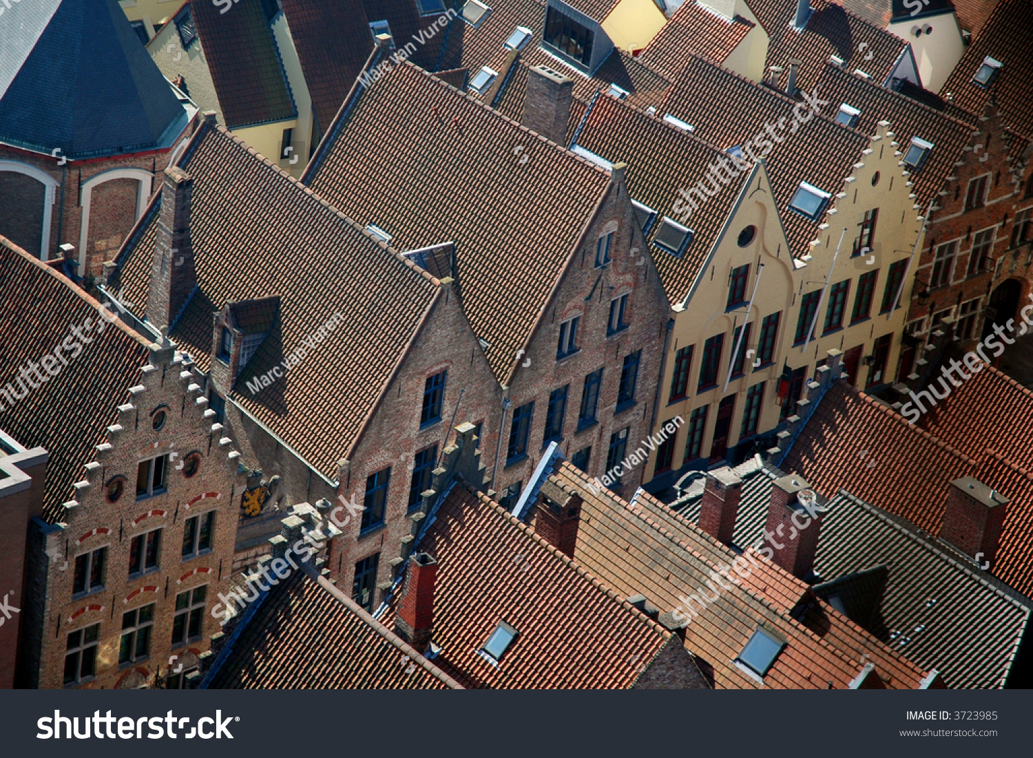 Old traditional houses in brugge belgium stock photo for Old traditional houses