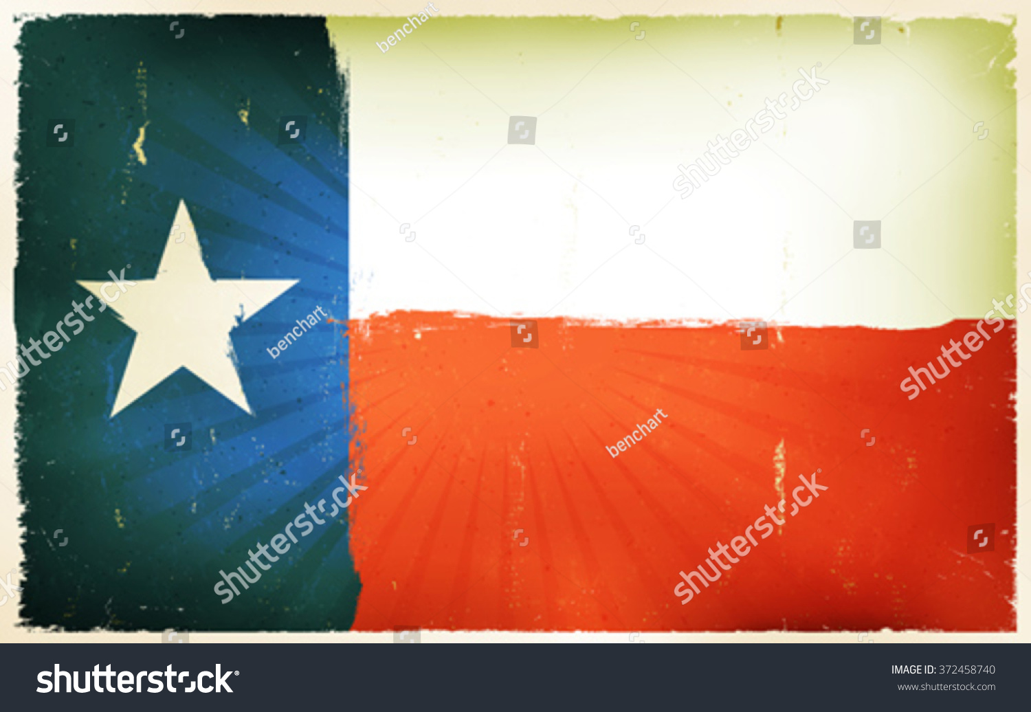 Vintage American Texas Flag Poster Background illustration Vectores ...