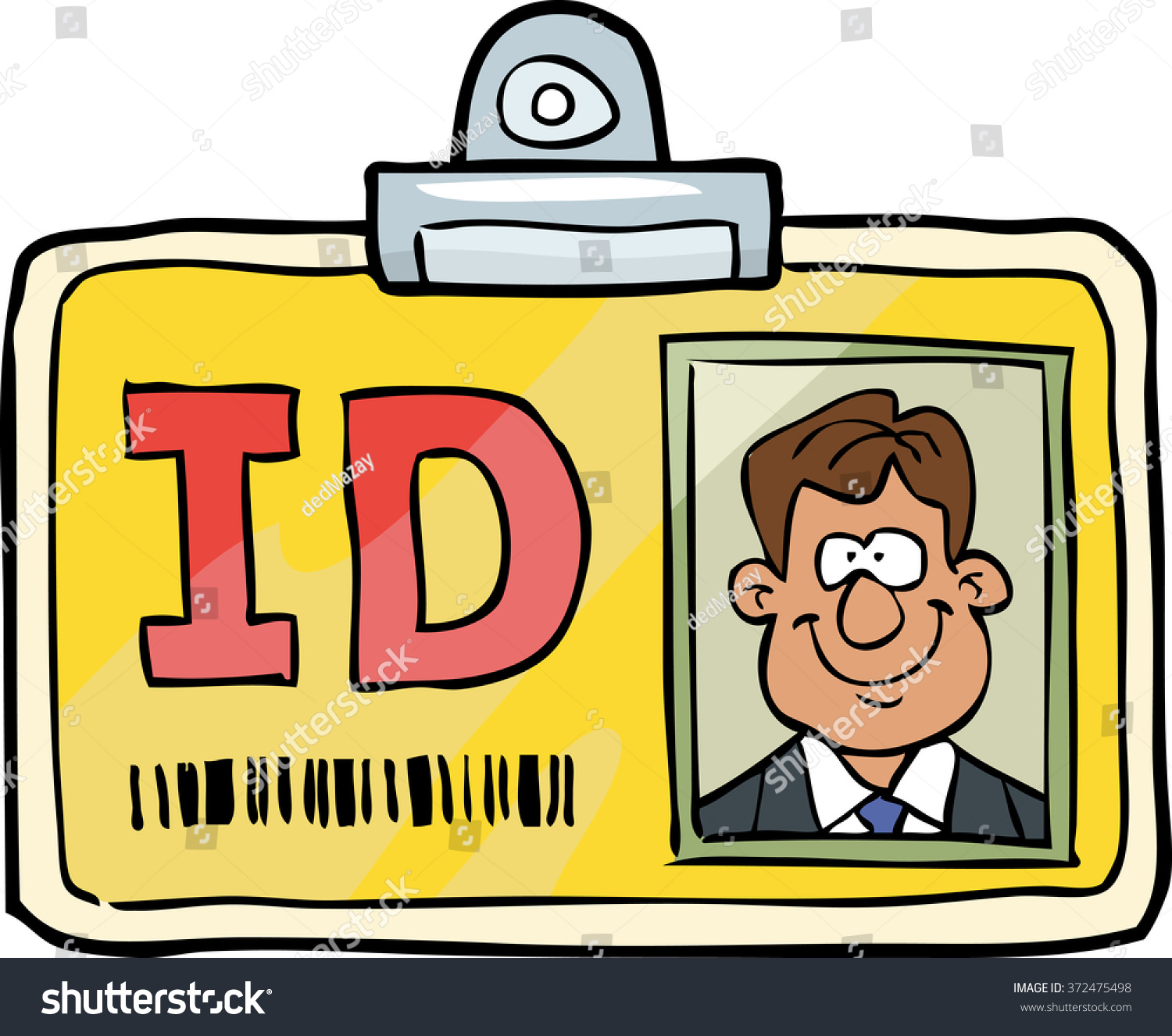Image result for id card cartoon