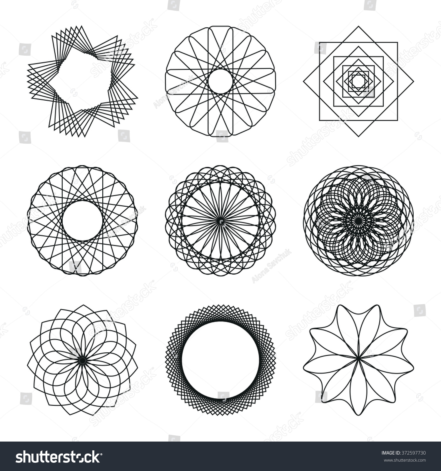 Overlapping circles grid  Wikipedia