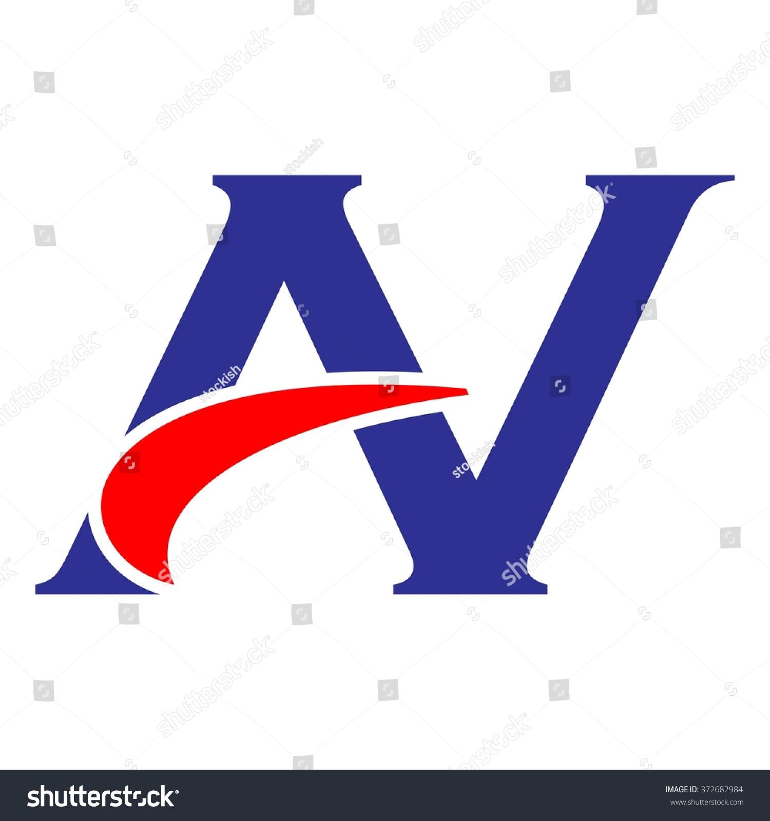 V Logo Vector Stock Vector 372682984 - Shutterstock