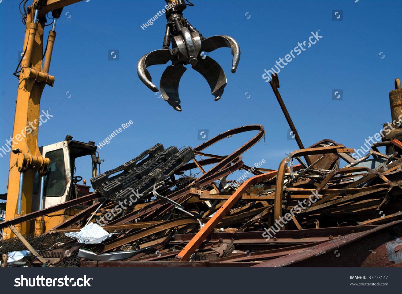 Mechanical grabber working in a… Stock Photo 37273147 - Avopix com