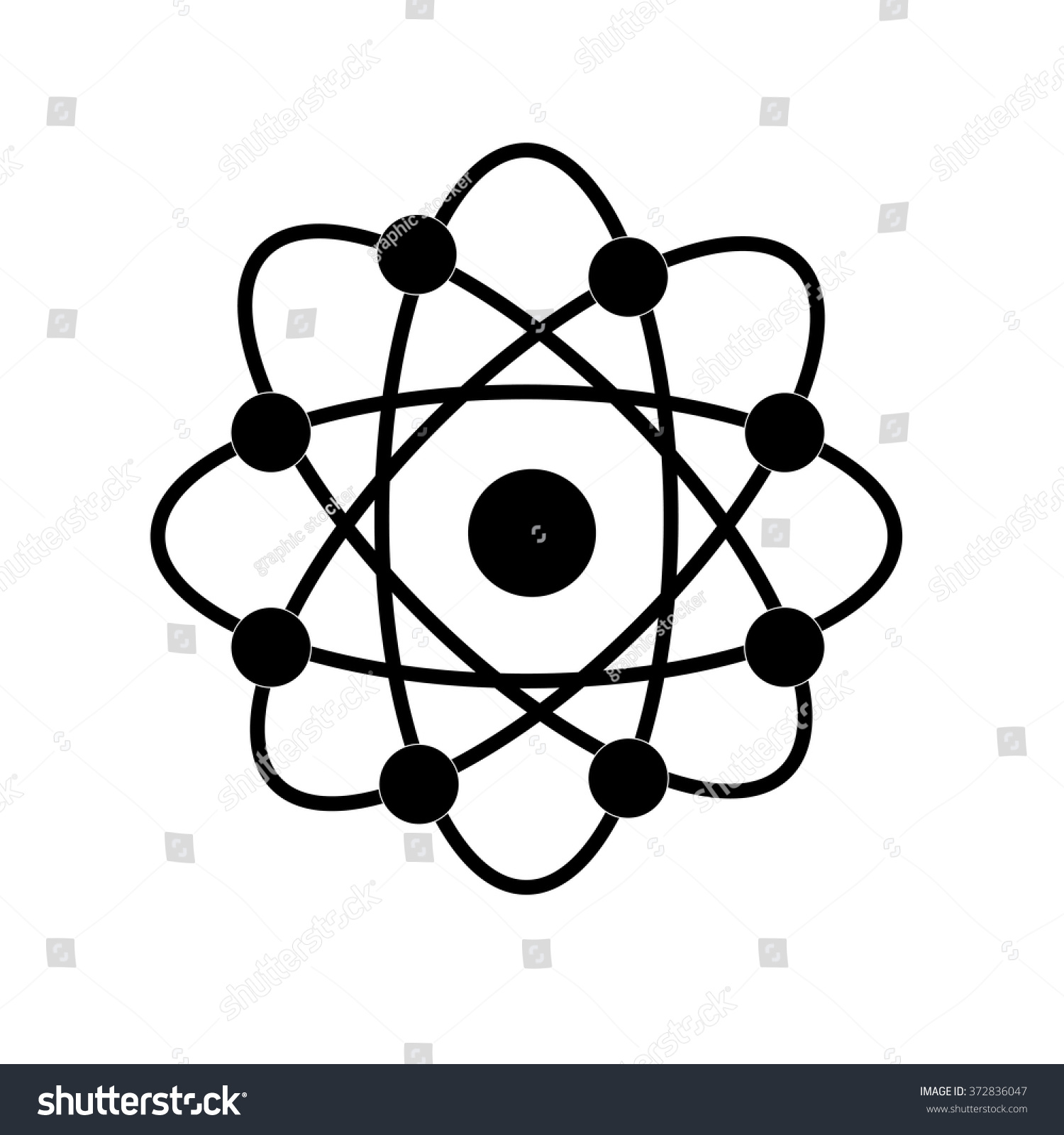 Atom structure vectorsymbol atomatom atom illustrationcovalent stock atom structure vectorsymbol of atomatom atom illustrationcovalent shell of ccuart Images