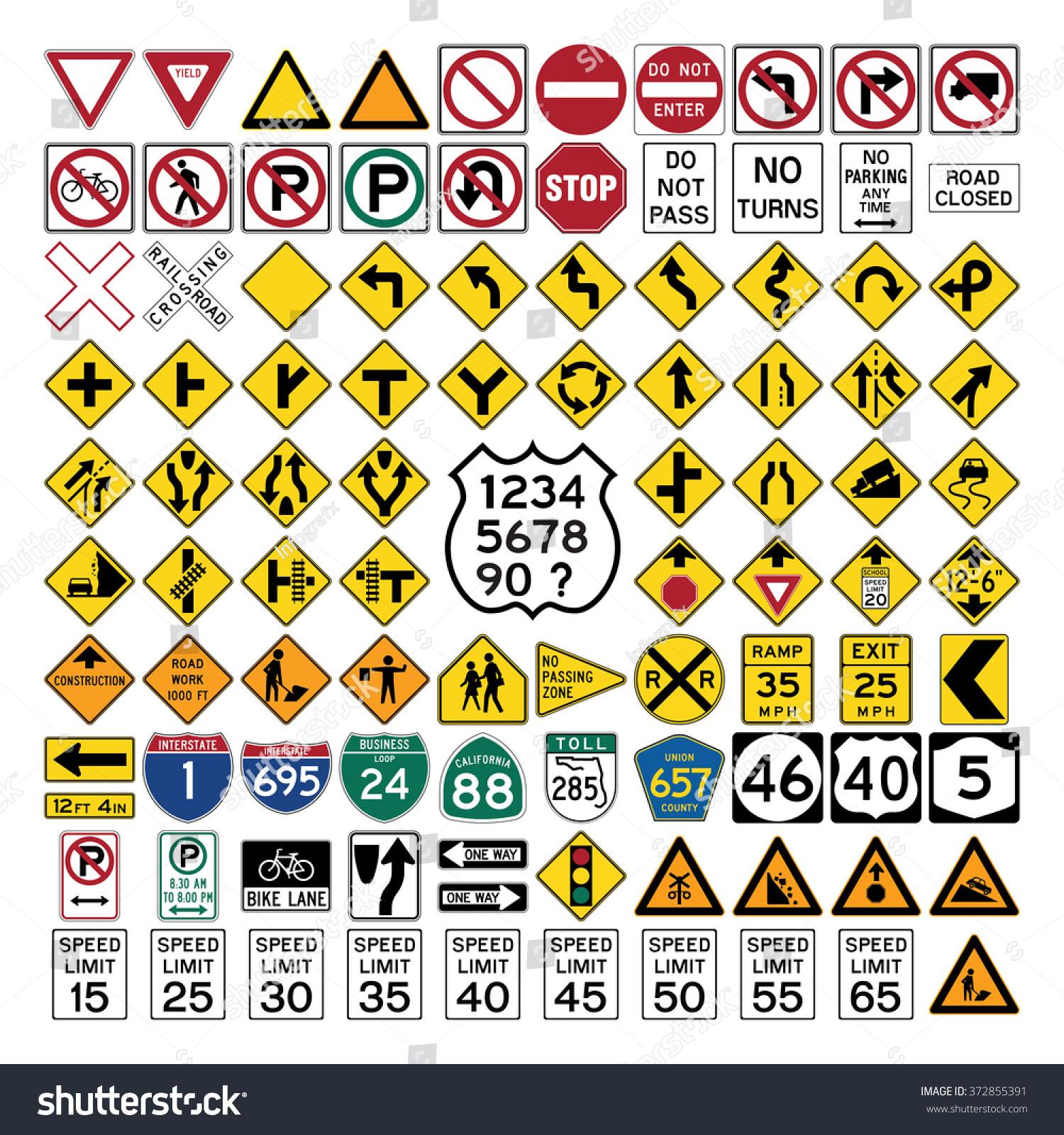 English signs and symbols