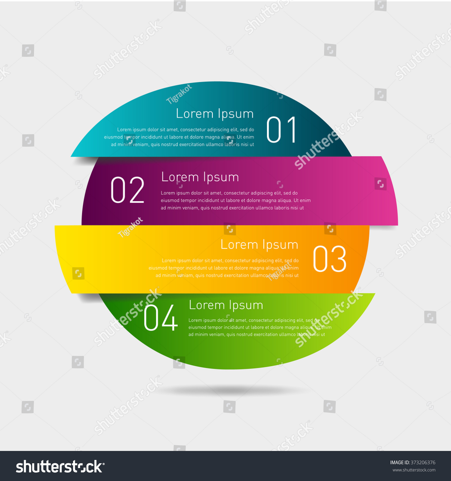 business timeline element infographic easy use stock vector (royalty