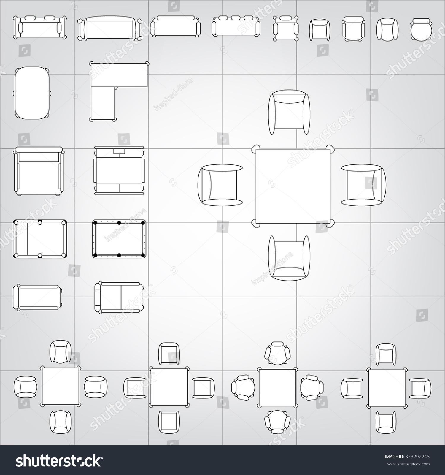 set simple 2d flat vector icons stock vector 373292248 shutterstock