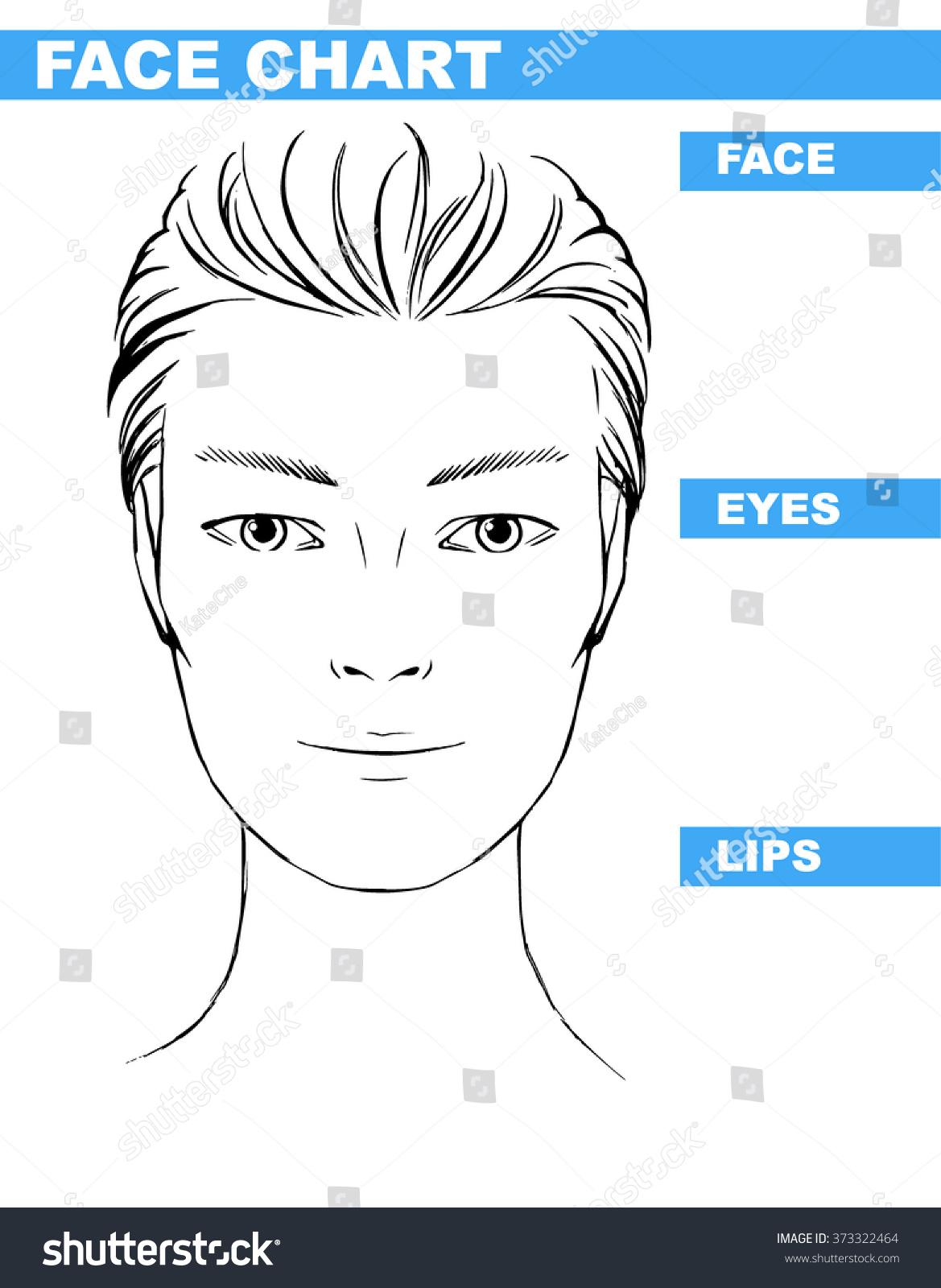 Close Femalemale Hooded Eyesasian Portrait Makeup Stock Vector 373322464 - Shutterstock