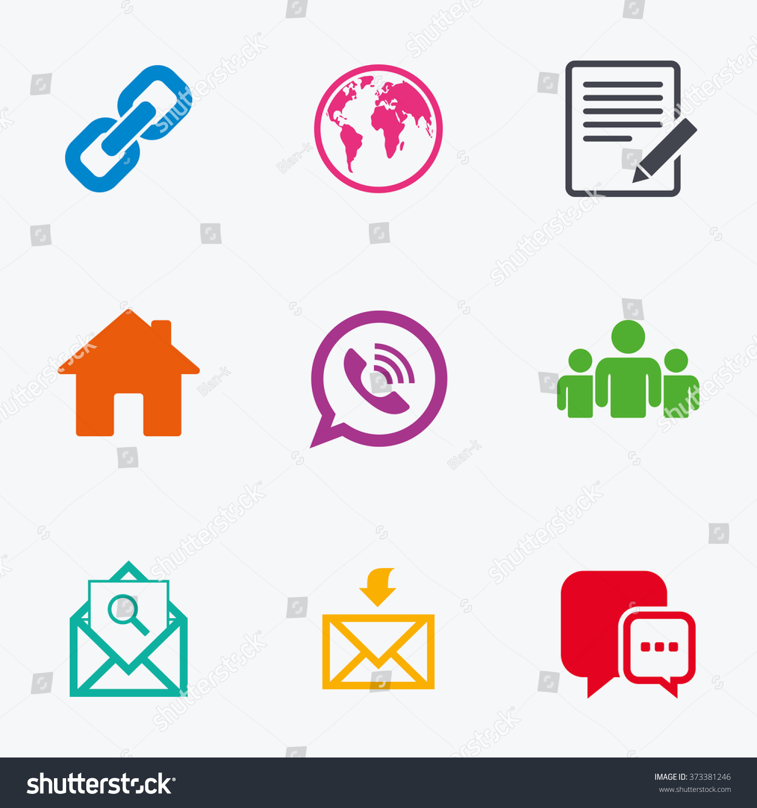 Communication icons contact mail signs email stock illustration communication icons contact mail signs e mail call phone and group biocorpaavc Gallery