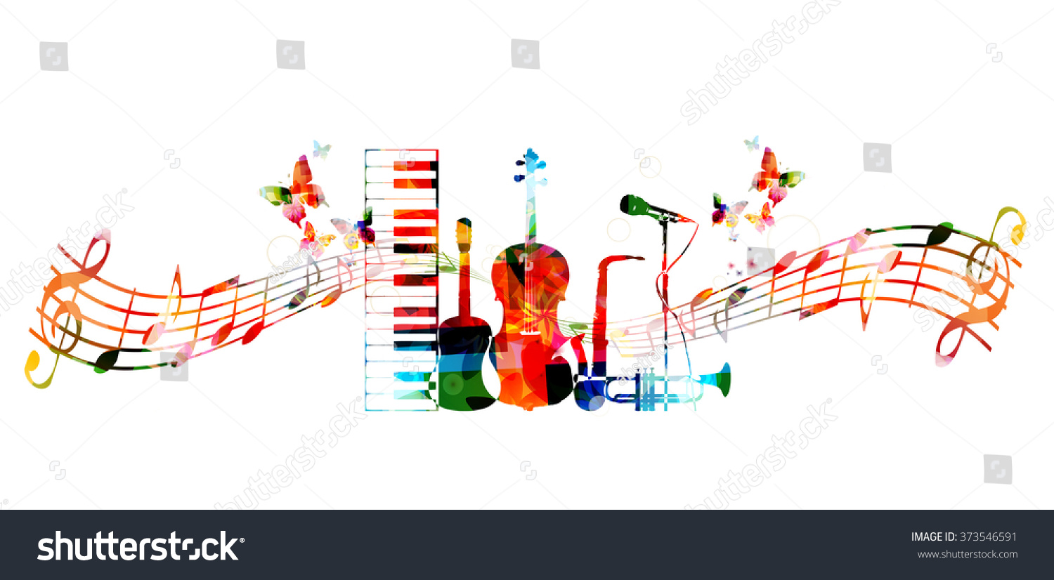 Colorful Music Designs | www.pixshark.com - Images ...
